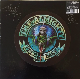 "Almighty (The) - Free 'N' Easy (12"") (Boxed) (Signed) (VG++/VG)"